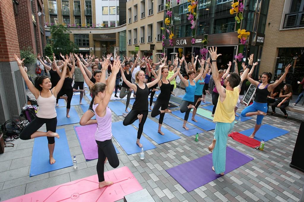 LA's ROCKET YOGA hits London - Healthista