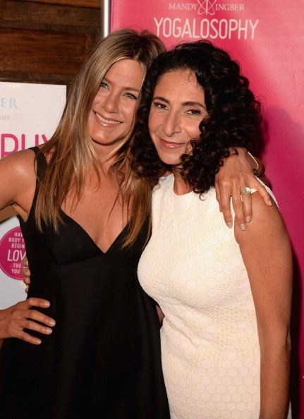 """SELF Magazine And Jennifer Aniston Celebrate Mandy Ingber's New Book """"Yogalosophy: 28 Days To The Ultimate Mind-Body Makeover"""" At The Soho House West Hollywood"""