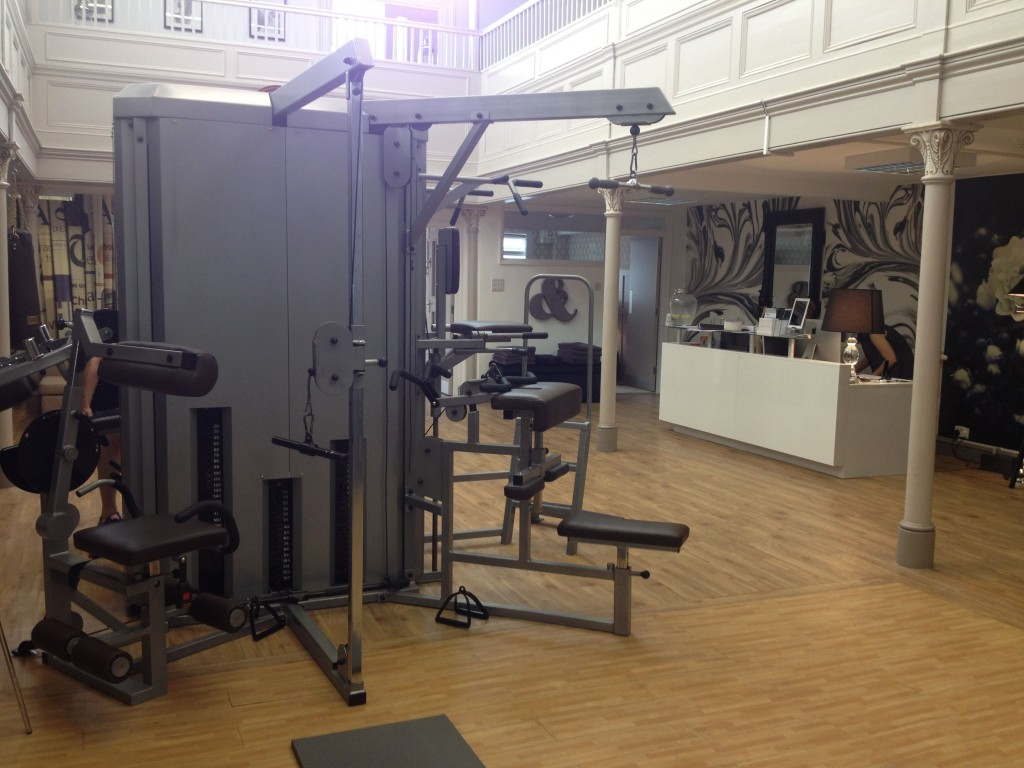 Library gym area 2