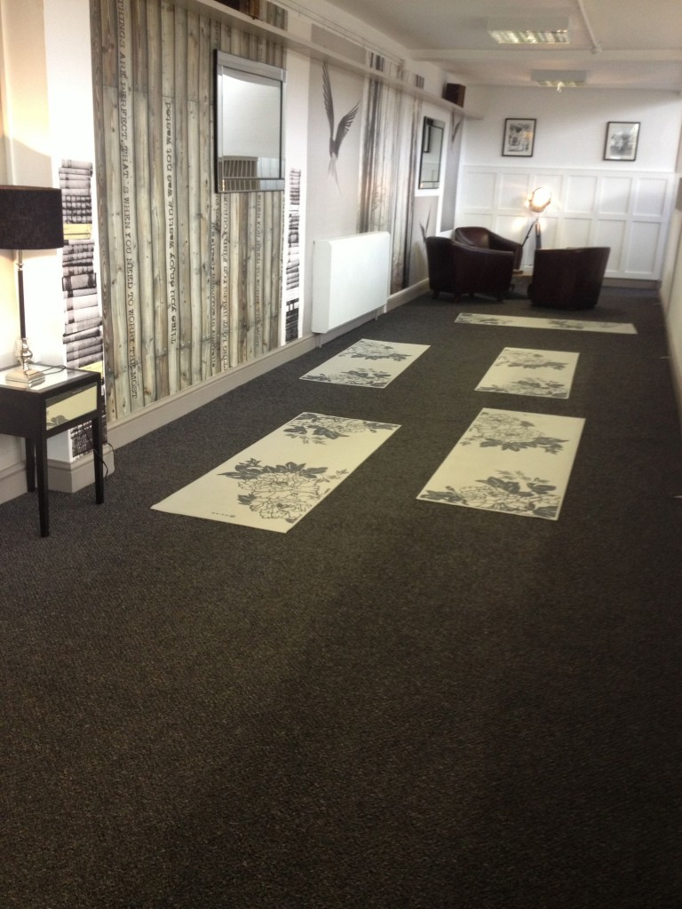 library yoga area