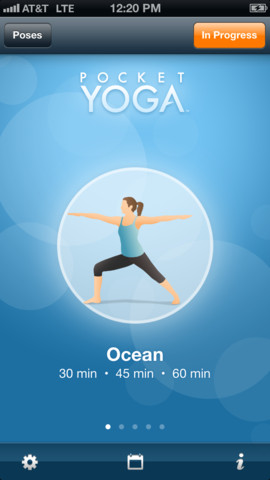 the new pocket yoga app  healthista