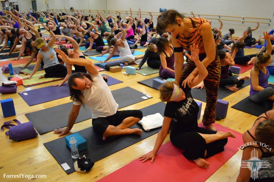 forrest yoga 1