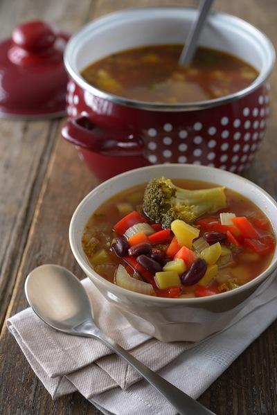 broccoli bean soup