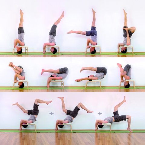 yoga think you can't do a headstand  healthista