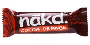 Rick - and most nutritionists we know - approves of Nakd bars, from health food shops