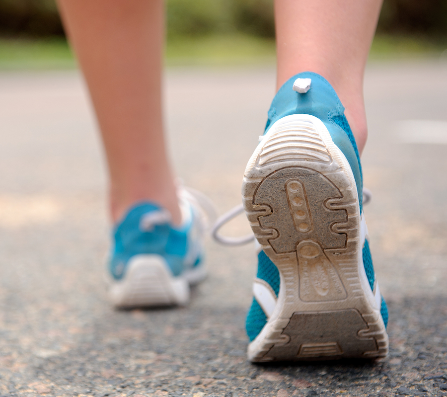 walking can have an alkalising effect on the body