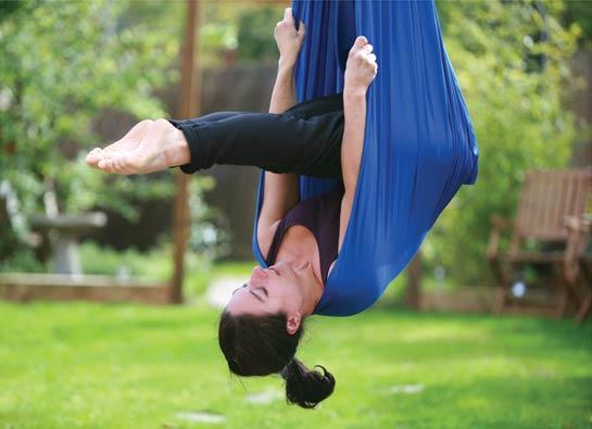 hanging yoga cacoon
