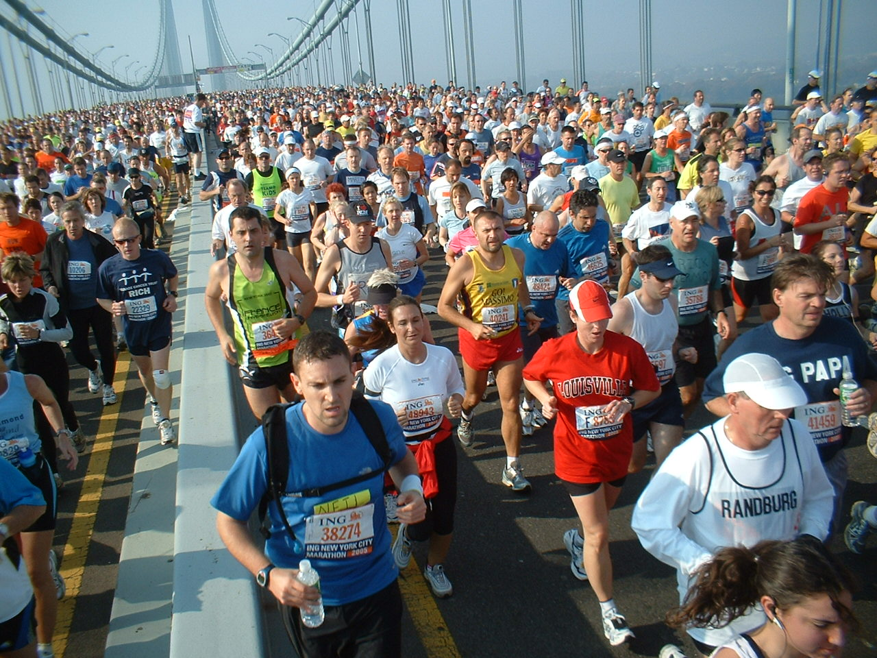New_York_marathon_Verrazano_bridge