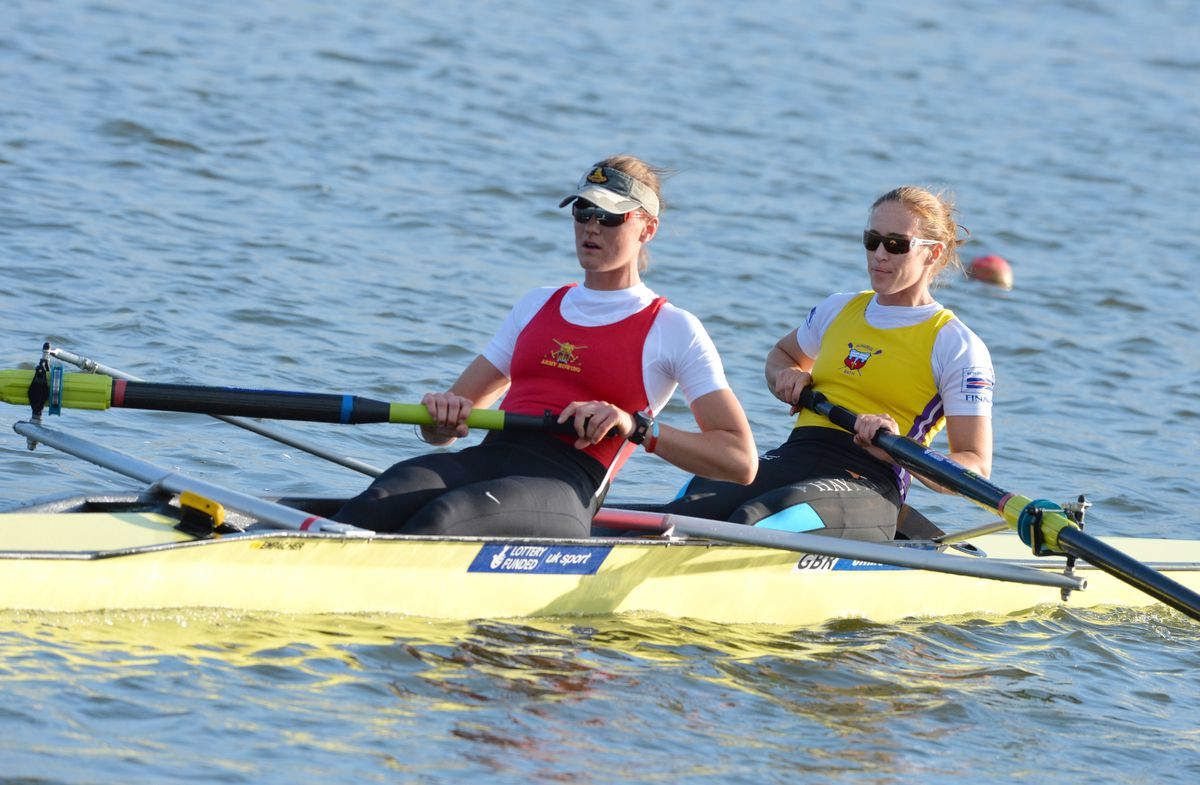Heather Stanning and Helen Glover Credit: Intersport Images