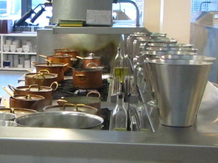 Kitchen at Leiths School of Food and Wine