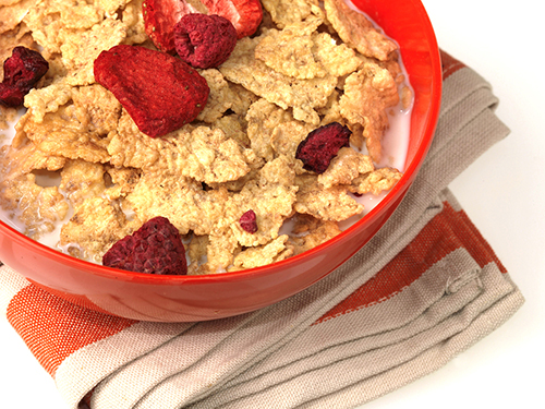 Breakfast Cereal with Dried Fruit