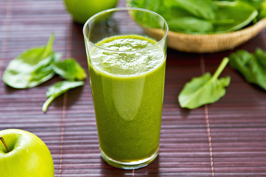 Spinach And Apple Smoothie