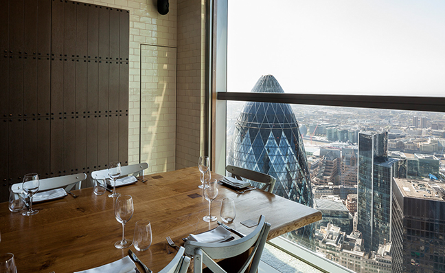Duck & Waffle view