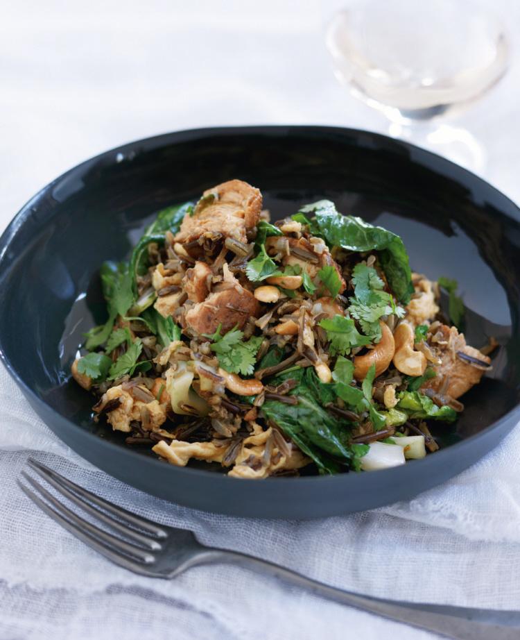 Chinese Chicken on Wild Fried Rice
