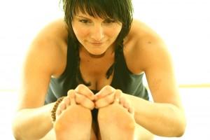 hot yoga teacher