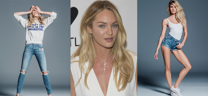 Candice Swanepoel, Candice Swanepoel and MOTHER launch capsule collection, by Healthista.com