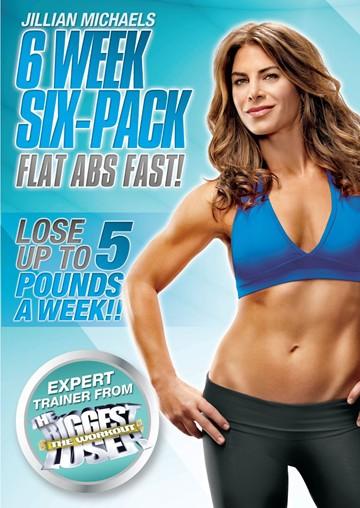 best workout DVDs, Jillian Michaels Six week six pack by healthista.com
