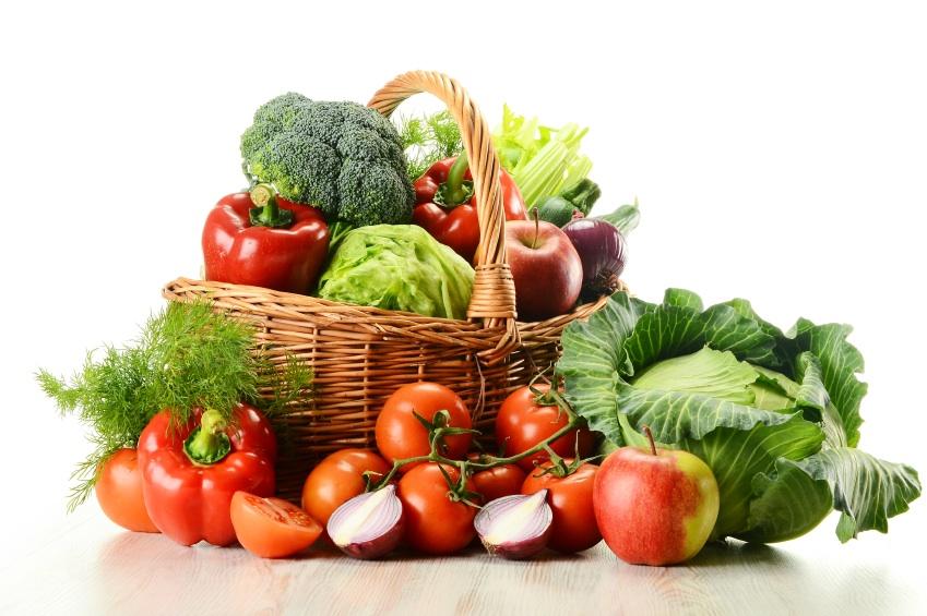 organic fruits & veg
