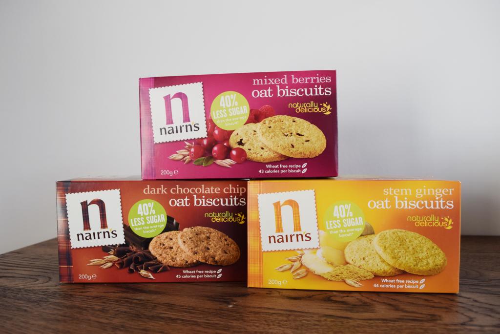 nairns oat biscuits, best healthy snacks by healthista.com