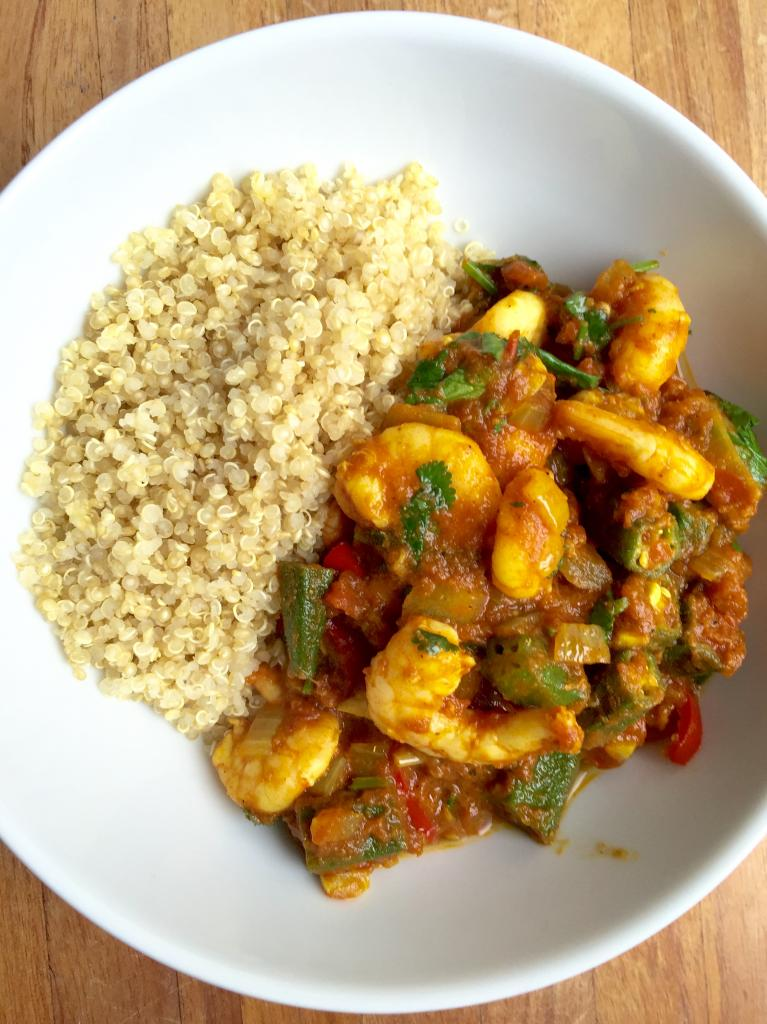tomato prawn curry, are you getting enough iron in your diet by healthista.com