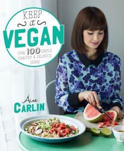Keep it Vegan book jacket, by-Healthista.com