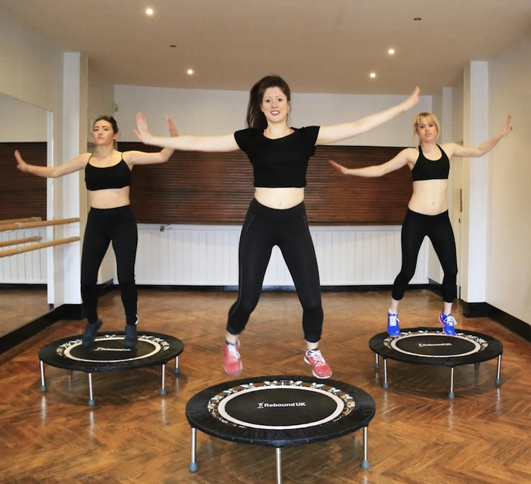 The New Mini-trampoline Workout Where