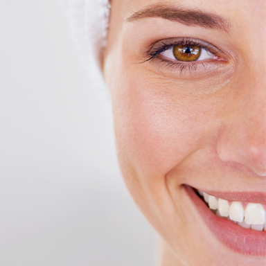 woman with great skin, conquer adult acne by healthista.com