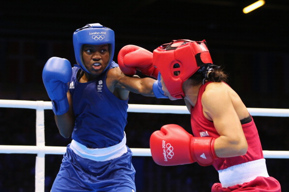 In 2012, Nicola Adams became the first woman to win a gold medal in boxing.