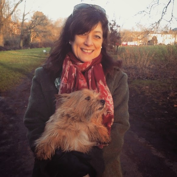 Jani White with dog, Why alcohol may be the best thing for your fertility, by Healthista.com