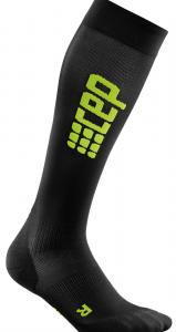 CEP_UltralightRunSocks_blackgreen_01_WP55LC