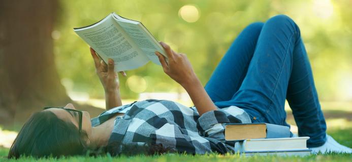 book reading, self help advice, by healthista.com, slider