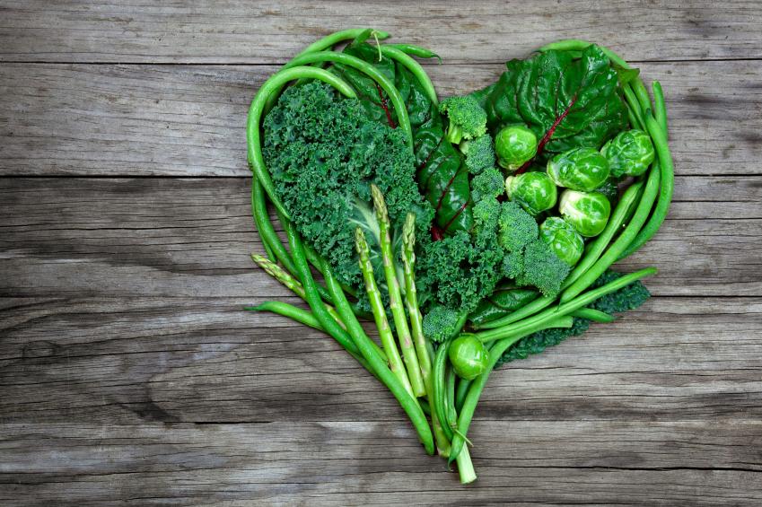 leafy greens, age dedfying diet