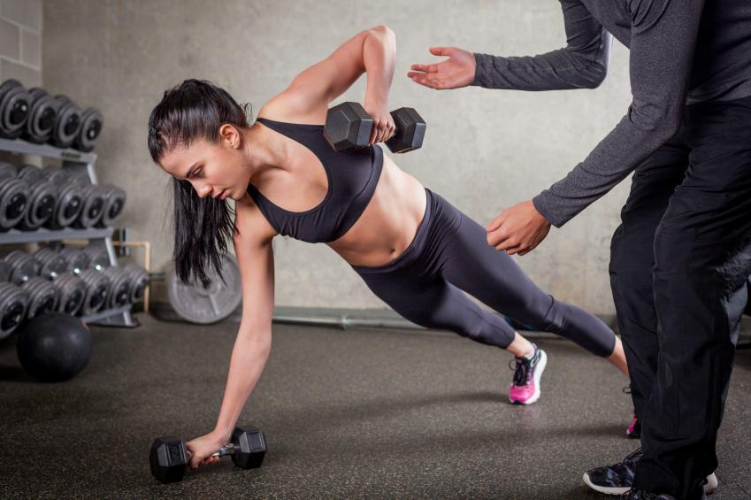 push up, cardio v weights