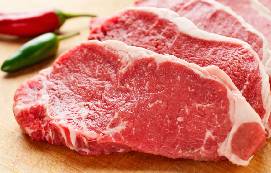 red meat, face heatlh, by healthista.com