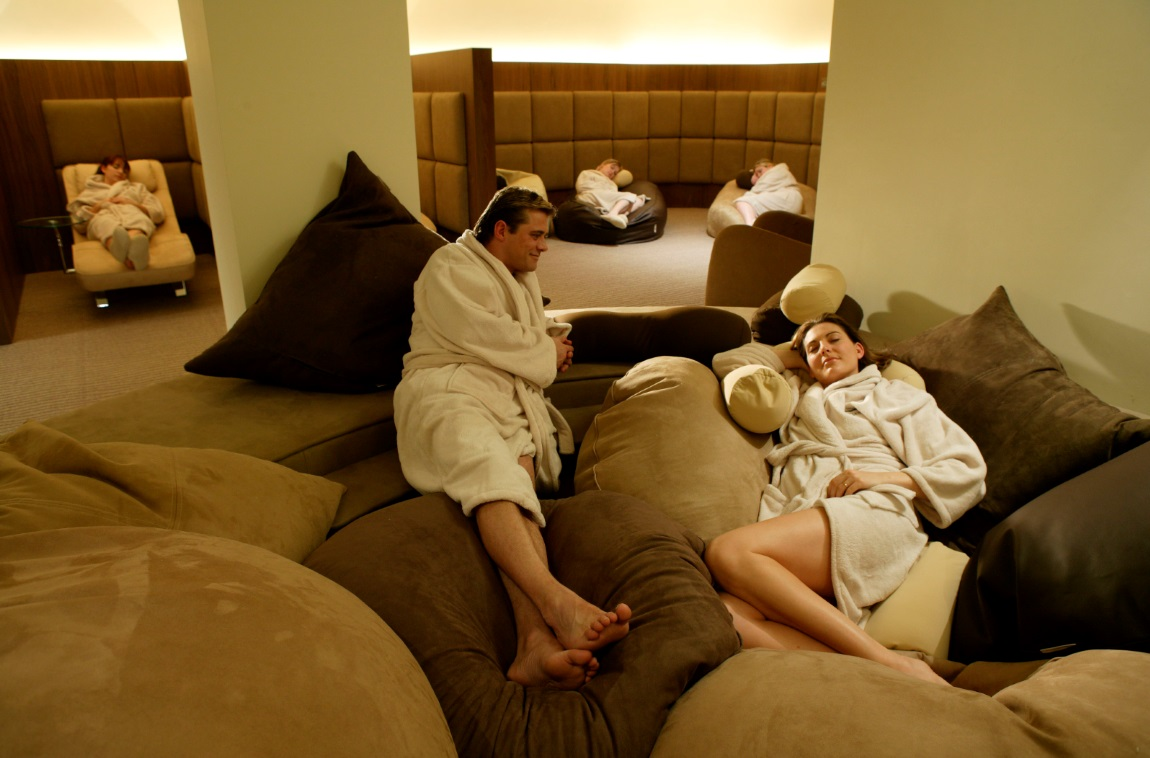 relaxation room, titanic spa, by healthista