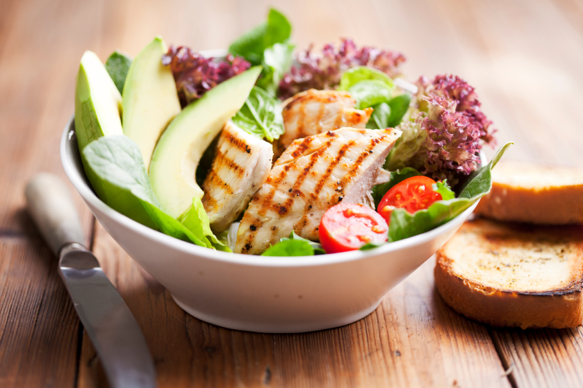 salad, age defying diet, by healthista.com
