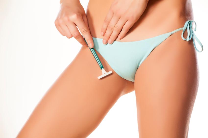 shaving, vaginal health, by healthista.com