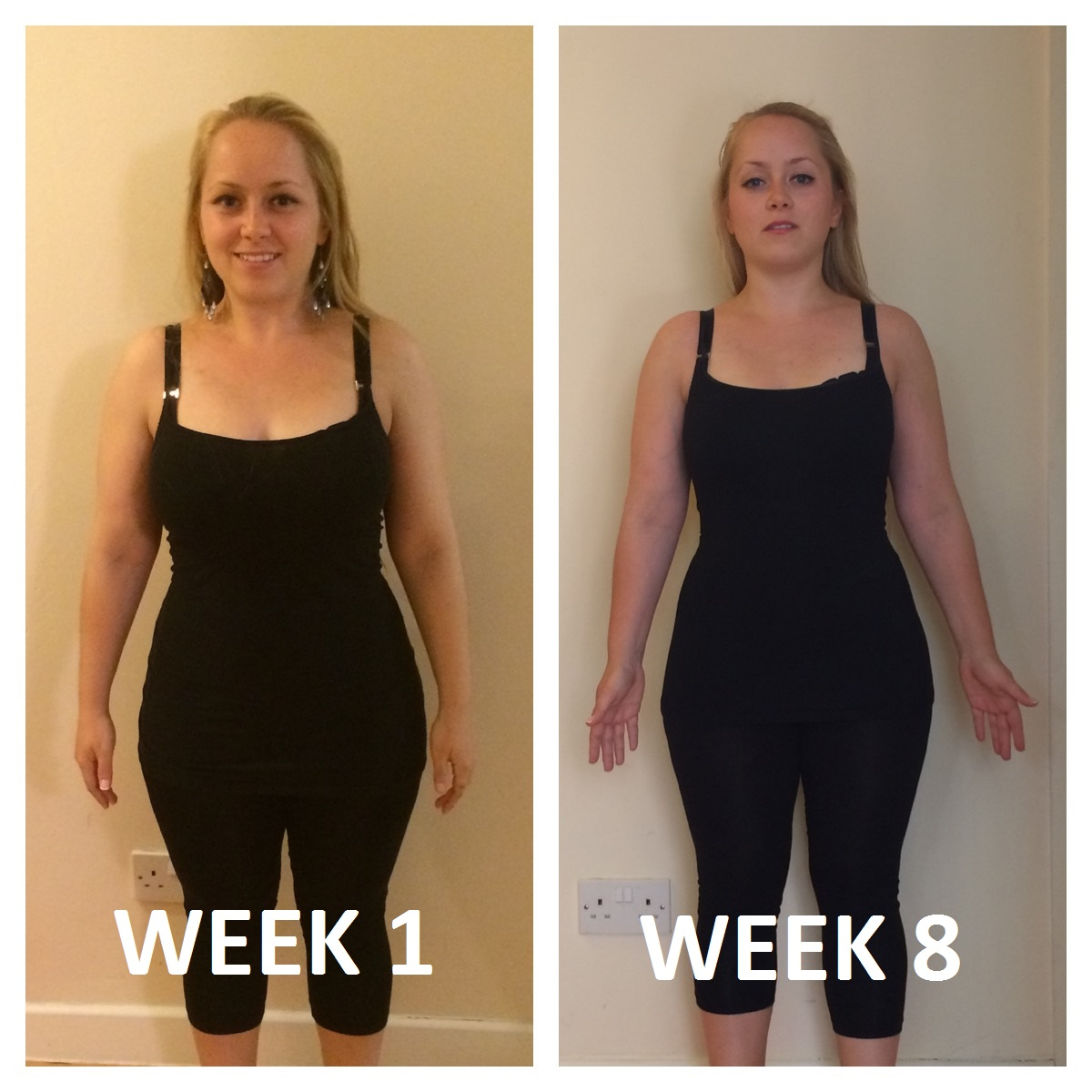 Body makeover: Week 8 of Joe Wick's plan and our blogger has lost nearly six kilos and - shock ...