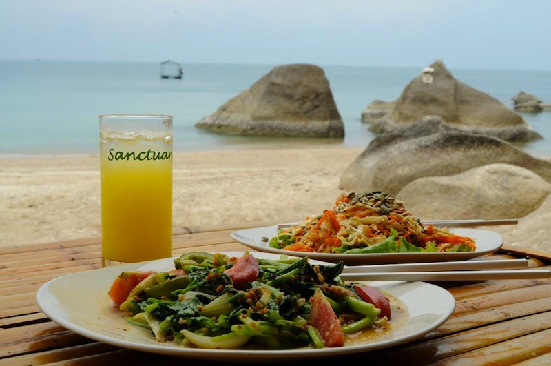 The Sanctuary Thailand Best 7 raw foodie retreats by Healthista.com