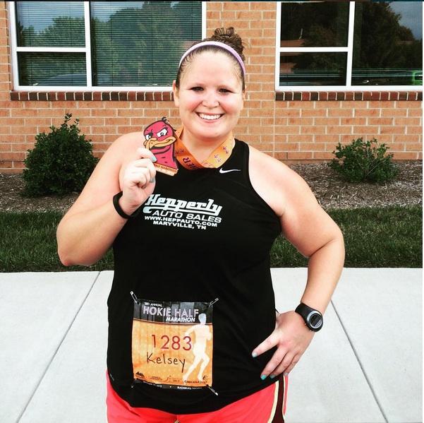 jogging Fat girl
