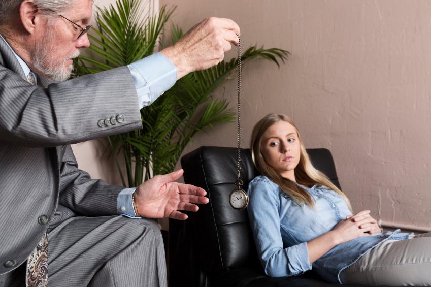 Therapist Using Hypnosis