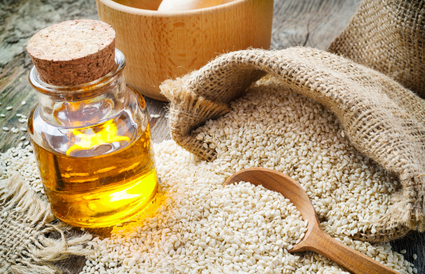 sesame seed oil, 7 oils for your family, by healthista.com