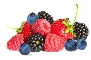 stress relieving foods. berries. healthista.com