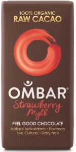 Ombar Strawberry Mylk, best vegan chocolate, by healthista.com