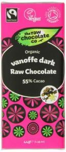 Raw-Chocolate-Vanoffe-Dark, best vegan chocolate, by healthista.com