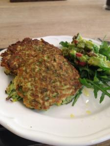 courgette patty from sugar retreat, ways to avoid sugar, by healthista.com