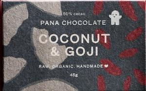 pana coconut and goji, best vegan chocolate, by healthista.com