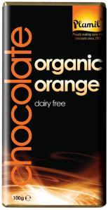 plamil-organic-orange-choc, best vegan chocolate, by healthista.com