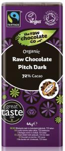 raw chocolare pitch dark, best vegan chocolate, by healthista.com