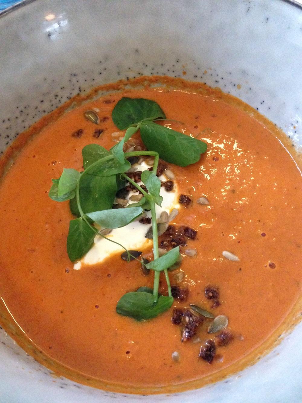 tomato soup cafe norden, healthy pleaces to eat in Copenhagen